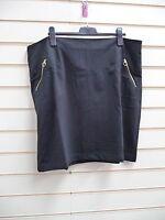 Kaleidoscope Women's Black Skirt Size 22 Pencil  Jersey  G019