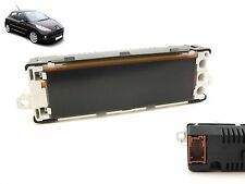 Peugeot 207 Centre LCD clock multi display panel 9664483980 2006>12 USW