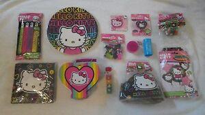 13 Different Hello Kitty Birthday Party Kit Items & BONUS