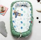 Baby Nest Bed Travel Crib Bed Infant CO Sleeping Cotton Cradle Portable Snuggle