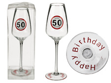 Sektglas 50 Happy Birthday Geburtstag