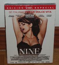 NINE - EDICION ESPECIAL - 2 DVD - NUEVO - PRECINTADO - DESCATALOGADO - DRAMA