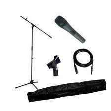 Kit Micro Karaoke pack + pied de micro + cordon xlr jack