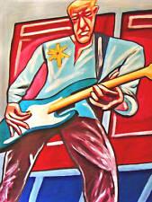 ADAM CLAYTON PRINT poster U2 fender bass achtung baby cd the joshu tree vertigo