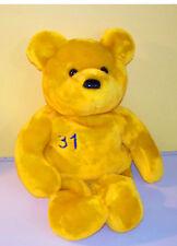 "Salvino's Big Bammers~15"" #31 Mike Piazza Teddy Bear~ Plush Stuffed Animal"