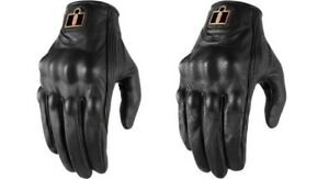 Icon Pursuit Classic Leather Gloves for Street Motorcycle Riding - Women's Sizes