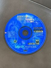 Tested! Resident Evil Code Veronica - Sega Dreamcast *Disc 2 Only*