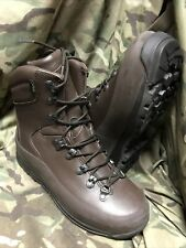 More details for genuine british issue brown cold wet weather iturri boots! new! size 7 large