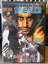 DVD Double Feature: KICK TO THE HEAD / THE YAKUZA WAY (DVD, 2005), NEW