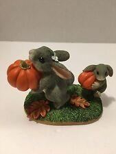 """Charming Tails 85/411 """"Pumpkin's First Pumpkin"""""""