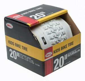 Bell Sports 7091034 White Rubber Bicycle Tire 20 x 1.75 - 2.25 in.