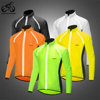Motorcycle Cycling Windproof Jacket Reflective Breathable Sports Coat Adults