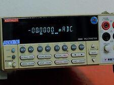 Keithley Model 2000 Multimeter Used7514