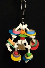 Bagel Toy - Small to Medium Bird Parrot Toy - Fowl Play