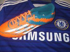Diego da Silva Costa (Chelsea) signed Adidas Football Boot-Green/orange/white- L
