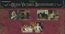 2019 QE2 COMMEMORATIVE STAMP PRESENTATION PACK NO 571 QUEEN VICTORIA BICENTENARY