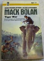 Tiger War (Mack Bolan No 61) by Marton, Sandra Paperback Book The Fast Free