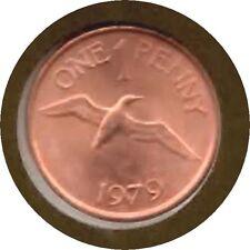 elf Guernsey 1 Penny 1979 Gennet Bird