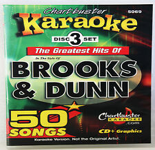 Karaoke CD+G Chartbuster The Greattest Hits Of Brooks & Dunn Includes Song List