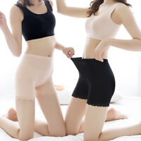 New Women Elastic Safety Lace Under Shorts Pants Underwear Shorts Solid Casual