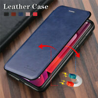 For Huawei P40 P30 Pro P40 Lite E Luxury Flip Leather Wallet Case Magnetic Cover