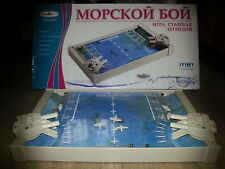 A Russian Popular Old Game Battle Ship MORSKOY BOY Морской Бой Soviet Original