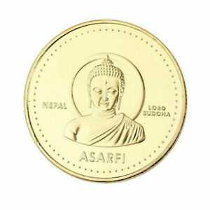 Nepal ASARFI Buddha Buddha Culture Lord Shiva Gold Commemorative Coin Collection