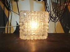 60s ERCO Glas Wandlampe Deckenlampe Pop Art Bubbel Art grafisches Design