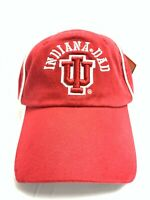 NCAA Indiana University Hoosiers Embroidered Adjustable Father's Day Buckle Cap