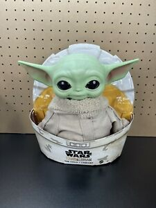 "Star Wars Mandalorian The Child 11"" Plush Baby Yoda Doll Mattel GWD85 NEW"