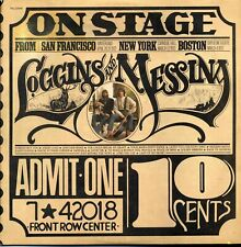 Loggins And Messina - On Stage   2X Vinyl LP Album Stereo PG 32848