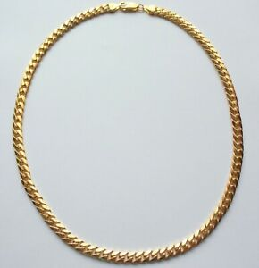 Necklace Chain Gold 18 inch 9ct Men Boys Unisex Jewellery Heavy 34.2g