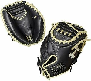 "Under Armour Framer Series 33.5"" Right Hand Throw Baseball Catchers Mitt, Black"