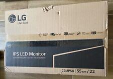 """LG IPS LED 22"""" Monitor"""
