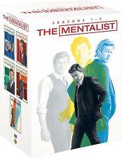 Mentalist - Season 1 2 3 4 5 Complete Box Set Collection New Sealed Region 2 DVD