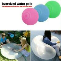 Bubble Ball Rubber Ball Stretch Transparent Super Bubble Soft Outdoor Toy V9I8