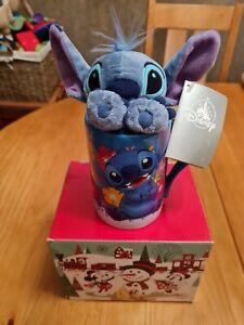 Disney Stitch Mug with Plush Stitch