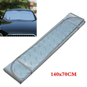 55x27 in Foldable Sun Shade Windshield Visor Cover UV Block Protection For Cars