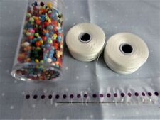 Bead loom  Accessory Set Including Seed Beads, Needles and Thread