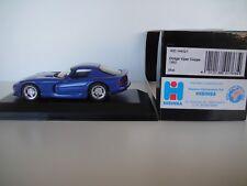 1/43 MINICHAMPS. DODGE VIPER COUPE. 1993 BLUE
