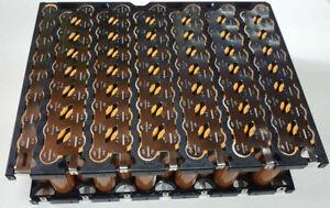 LG 48v 16,8AH 800Wh Li-ion Akku 13s8p 18650 in Abstandhalter ohne BMS