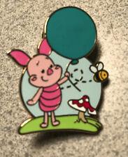 Disney Pin Piglet Holding Balloon With Mushroom Winnie The Pooh Cuties