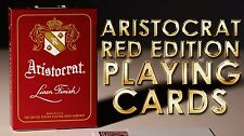 Aristocrat 727 Bank Note Red Deck Playing Cards Poker Size USPCC New Sealed