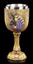 Kelch - Ägyptischer Gott Anubis - Deko Ägypten Figur