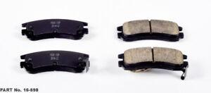 Rr Ceramic Brake Pads Power Stop 16-698