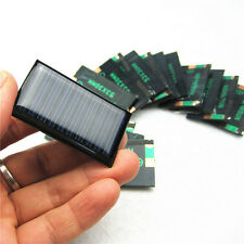 10Pcs 5V 30mA 53X30mm Solar Cells Panel 3.6V Battery Charger Solar For DIY Toy