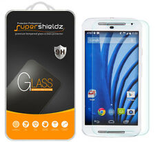 2X Supershieldz Tempered Glass Screen Protector For Moto G (2nd Generation)
