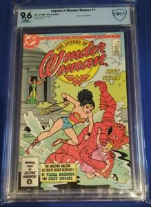 The Legend of Wonder Woman #1 CBCS 9.6 wp May, 1986-DC cgc collect graded comics