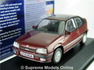 CORGI VA13205B VAUXHALL ASTRA MODEL CAR MK2 BORDEAUX RED 1:43 VANGUARDS K8Q