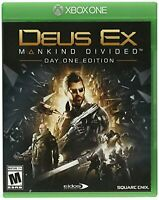 Deus Ex: Mankind Divided For Xbox One Very Good 4E